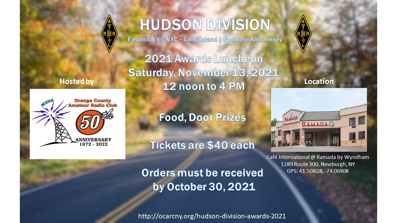 Hudson Division Luncheon 2021